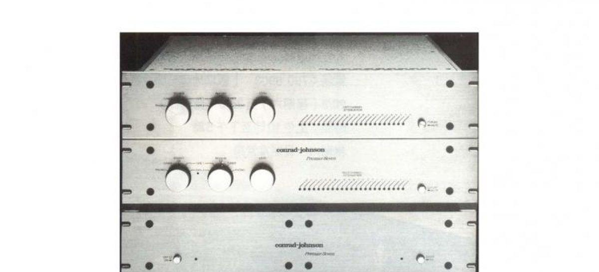 當年今日:conrad johnson Premier 7a+8 前後級 + MartinLogan Monolith III 屏風揚聲器