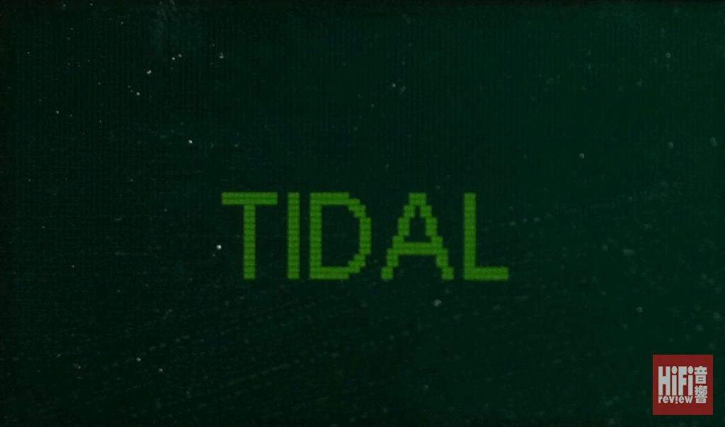 亦支援TIDAL串流服務,播放大量16bit/44.1kHz PCM音樂