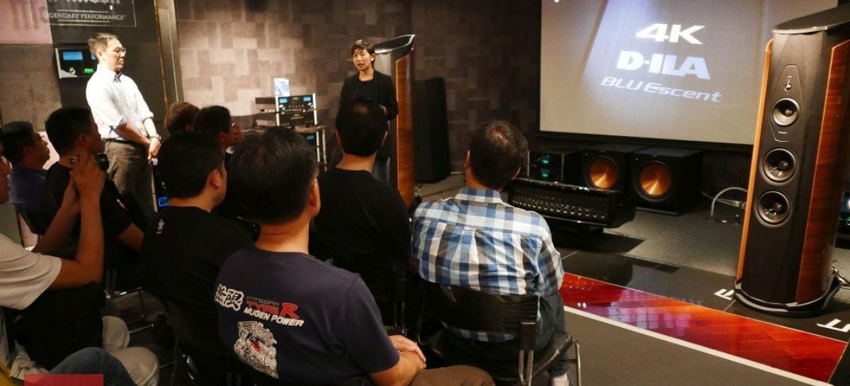 JVC 原生 4K D-ILA 旗艦級投影機欣賞會